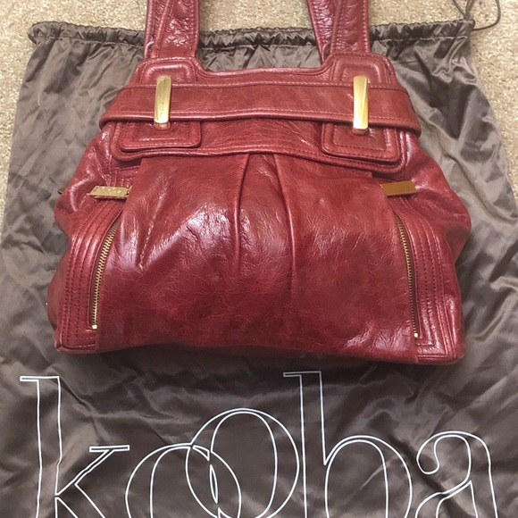 Kooba Handbags - Red Kooba purse. In great shape. Non smoking home.